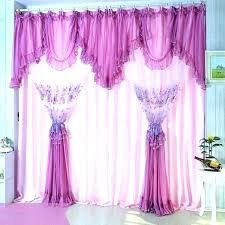 Purple Bedroom Curtains Purple And White Curtains Harrykingriches Info