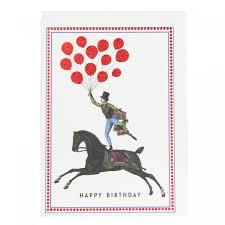 happy birthday rider greeting card ohh deer