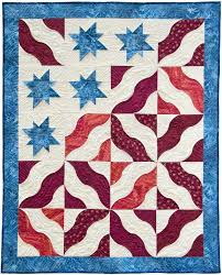 southwind designs has dimensional curved quilt patterns for todays