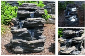 solar fountains with lights best battery powered outdoor fountain 15 self contained water solar