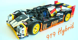 porsche 919 lego porsche porsche 919 hybrid hypercar lego technic mindstorms
