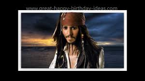 Johnny Depp Quote On Love by Johnny Depp As Captain Jack Sparrow Sings Happy Birthday To You