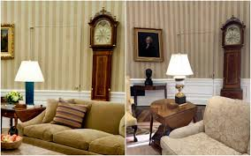 Oval Office Renovation The White House Redesign - Trump home furniture