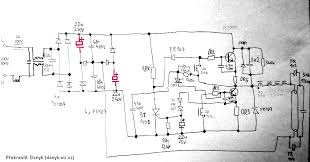 rectifier serial capacitors in electronic ballast of a