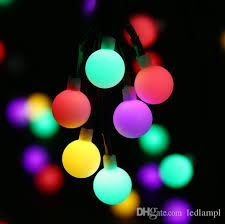 solar powered christmas lights globe solar powered christmas lights 21ft 50led multi color