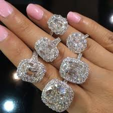 wedding ring big big diamond rings ecuatwitt