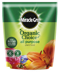 Miracle Grow Patio by Mgro Organic Choice All Purpose Plant Food Garden Universal