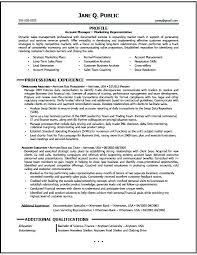 sales manager resume template advertising account management resume account manager resume