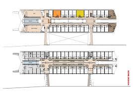 Pontoon Houseboat Floor Plans by Archshowcase Hotel Flottant In Paris France By Seine Design