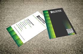 modern green vertical style business card template free