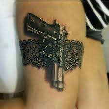 best 25 gun tattoos ideas on pinterest pistol gun tattoos
