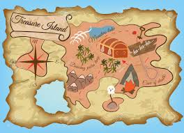 Treasure Island Map Treasure Island Map Clipart Collection