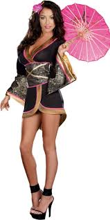 Womens Pocahontas Halloween Costumes Geisha Glam Costume Women Party Halloween