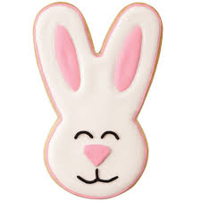rabbit cookies smiley easter bunny cookies wilton