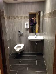 public restroom retile remodel after picture design for