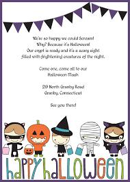 free halloween birthday party invitation templates halloween