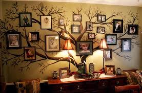 diy family tree wall decor the unique house decoration family