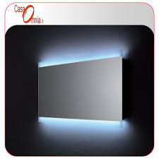 bathroom mirror led anti fog bluetooth v u0026c vela casaomnia