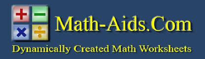 math aids com dynamically created math worksheets