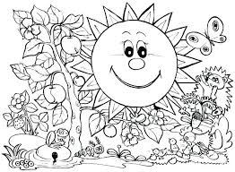 coloring pages about winter season coloring pages seasons coloring page seasons coloring page