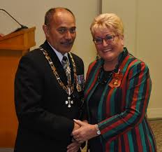 dianne glenn of pukekohe onzm for services to disabled women