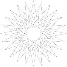 beautiful point star coloring page with star coloring pages