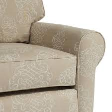 buckingham glider recliner in choice of fabric and upholstered