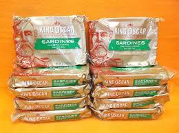 King Oscar Sardines Mediterranean Style - king oscar brisling sardines cross pack olive oil 3 75 oz lot of