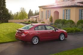 red subaru sedan 2015 subaru impreza sedan starts at 18 990 5 door at 19 490