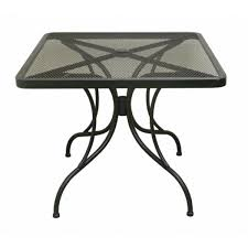 36 Patio Table Steel Mesh Patio Table With Legs Tsps