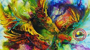 Colour Fine Art Tips On Acrylic Art With De Gillett On Colour In Your