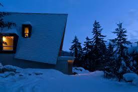 a frame cabin architecture