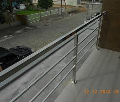 Conhecido Foto: Guarda Corpo Tubo Quadrado em Aço Inox 304 de Artmetalica  #ZT52