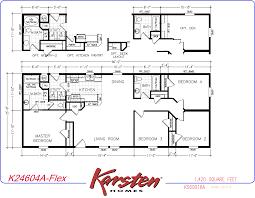 Karsten Homes Floor Plans by Avalon Series Floorplans Double Wide Homes El Dorado Ark Inc