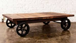 Wagon Wheel Coffee Table Wooden Coffee Table With Wheels U2014 Rs Floral Design Coffee Table