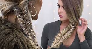 hair rings images images How to hair ring fishtail braid festival hair jpg