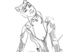 coloring pages exquisite catwoman coloring pages pictures