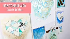 how to make diy gallery art wall colour reveal range by crate