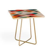 Orange Side Table Side Tables Deny Designs