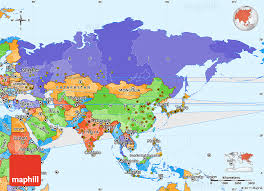 asia political map political simple map of asia