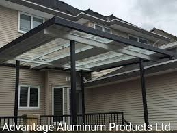Acrylite Patio Cover by Advantage Aluminum Products Ltd Patio Covers Vancouver Bc Canada