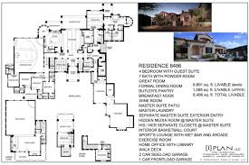 craftsman home plans 2000 square feet floor plans 7501 sq ft to 10000 plan 8486 120 luxihome