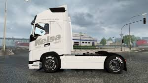 volvo 500 truck fh16 2013 kelsa for euro truck simulator 2