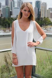 cocktail dress white long sleeve dress with ustrendy