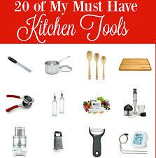 20 of my must have kitchen tools bobbi u0027s kozy kitchen