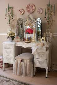 vintage vanity table with mirror and bench bedroom lovely bedroom vanity set for your sweet room cheap