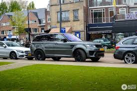 green land rover land rover range rover sport svr 25 may 2017 autogespot