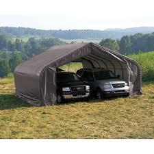 12x24 Carport Shelterlogic 12 X 24 Ft Suv Boat Canopy Carport Hayneedle