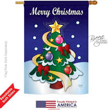 merry christmas house flag u0026 garden flags flagsforyou