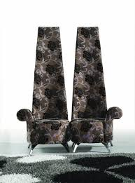 dazzling home decor using extraordinary high back chair furnishing